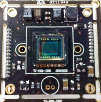 1/3 Sony CCD 540 TVL Board color Audio Double Drive Camera