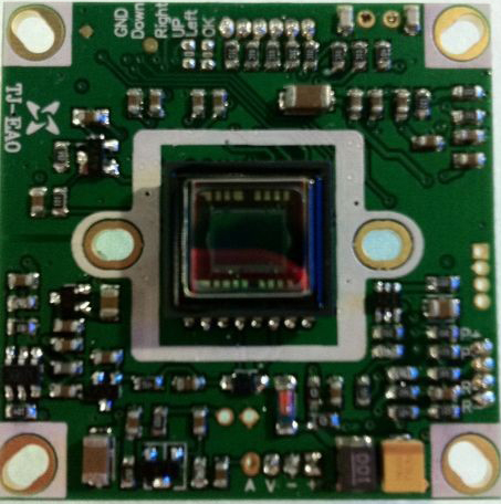 650TVL HD SONY Effio DSP CCD Color Board Camera OSD Board Camera