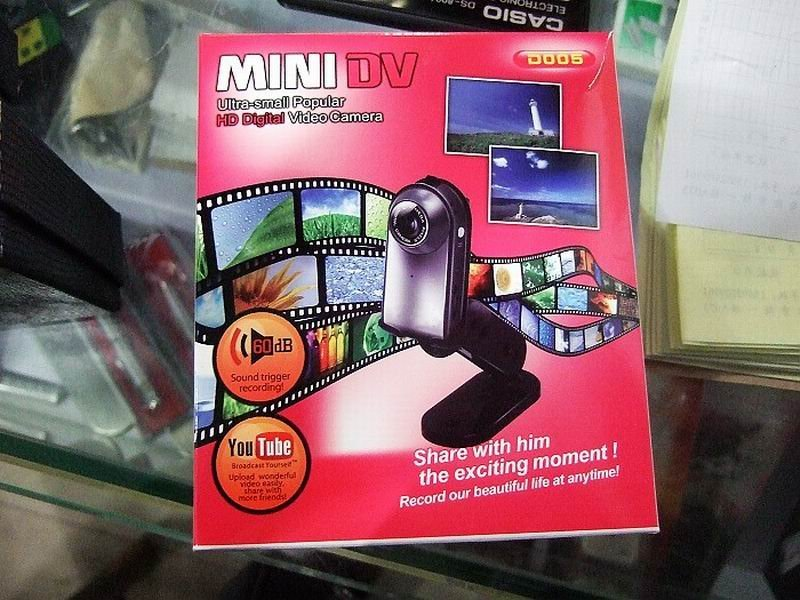 HD photo resolutional portable mini DV