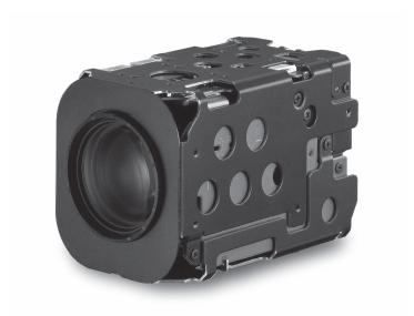 SONY FCB-EX1020P 36x Zoom Color Block Camera