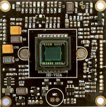 1/3 SONY Effio-E CCD Color OSD D/N Security Camera Borad