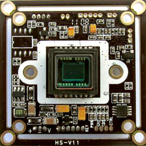 1/3 Sony CCD 650 TVL Wide Dynamic Board color OSD Camera