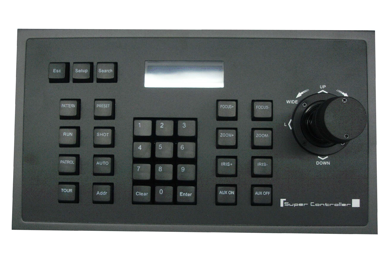 3D Control Keyboard
