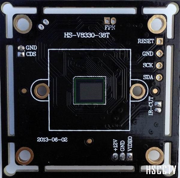 1/3.5 COMS 800TVL IR-CUT 0.1LUX Camera Board