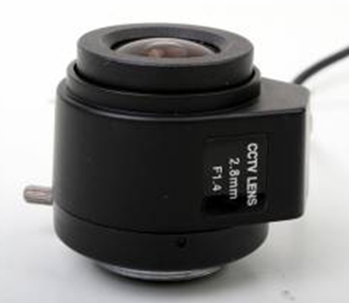 2.8MM Manual Focus DC Aperture F1.4 Lens
