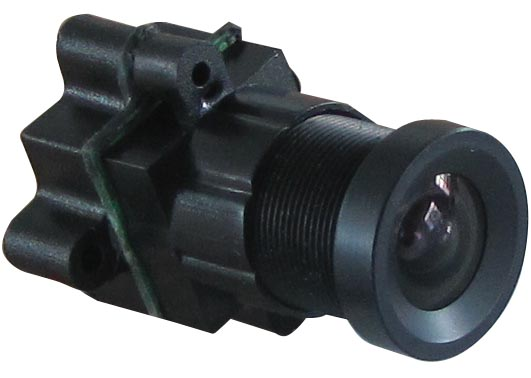 Mini CCTV Camera 520TVL 90 degree Screw Holes Mini Spy Camera