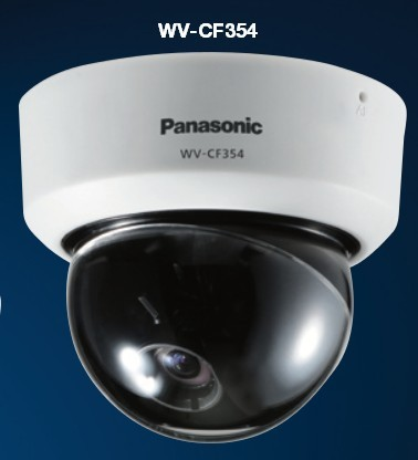 Panasonic WV-CF354 Fixed day/night dome camera with Auto Back Focus