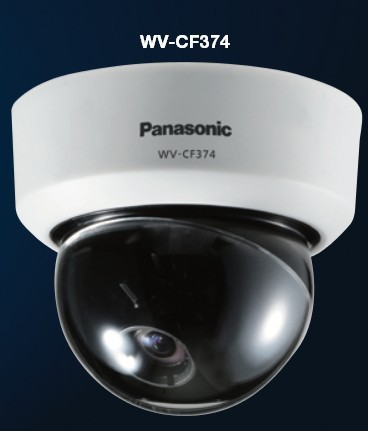 Fixed true day/night dome camera with Focus assist Panasonic WV-CF374