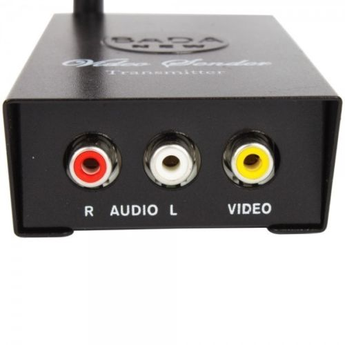 2.4GHz Wireless Audio Video Transmitter and Receiver for DVD/DVR/CCD Camera